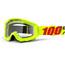 100% Strata Goggle Mercury-Clear